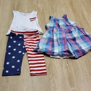 Girl's 3t summer outfits